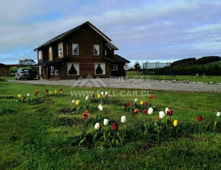 Espectacular Casa con Parcela en Puerto Varas